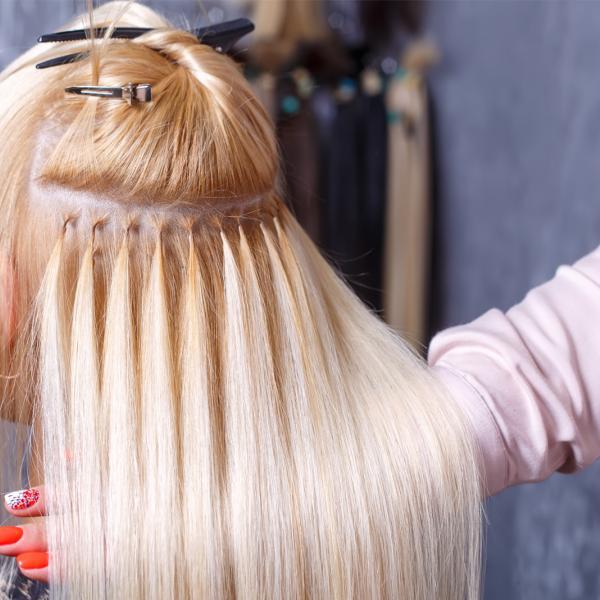 Haarverlängerung / Verdichtung
